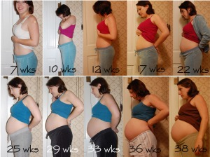 Belly progression 38wks copy